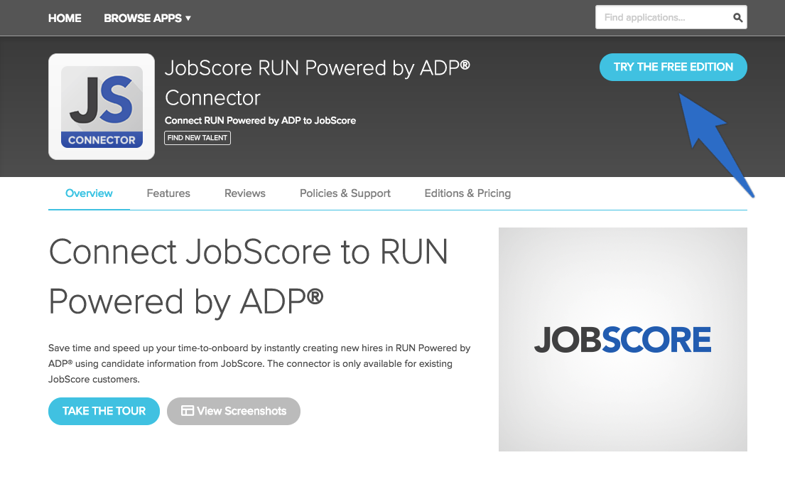 How Do I Use The Adp Run Hris Integration Jobscore Help