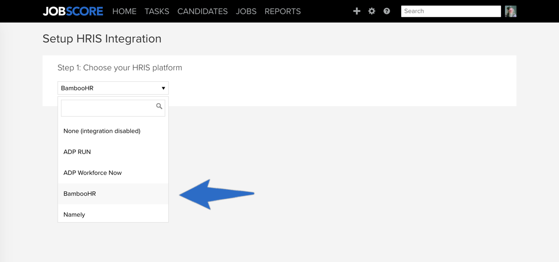 How do I use the BambooHR HRIS integration? – JobScore Help